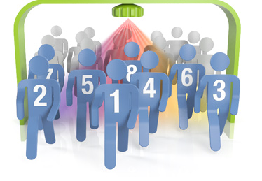 Entrance People counting graphic