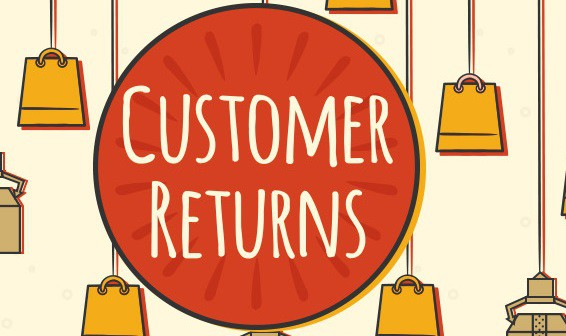 Customer Returns Infographic