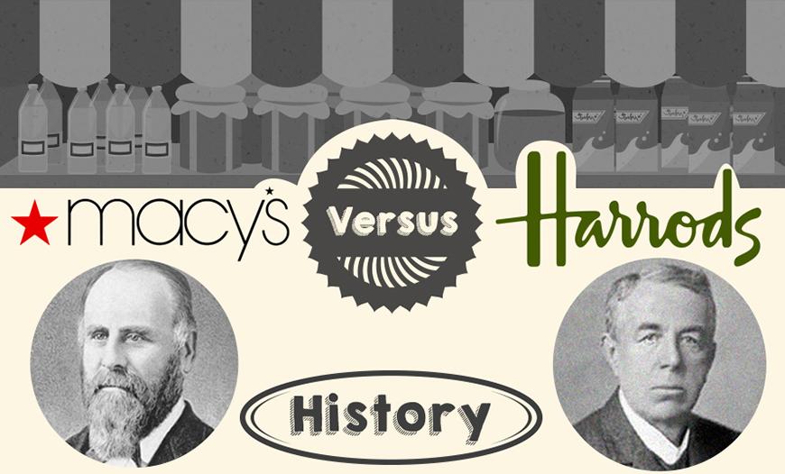 Macys Vs Harrods – An Info-graphic