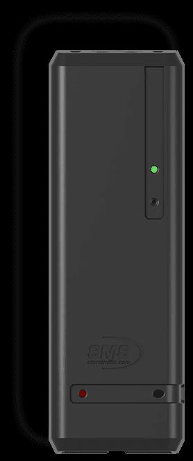 Pearl wireless door counter - black - storetraffic