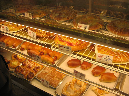 Bakery Baked Goods Display