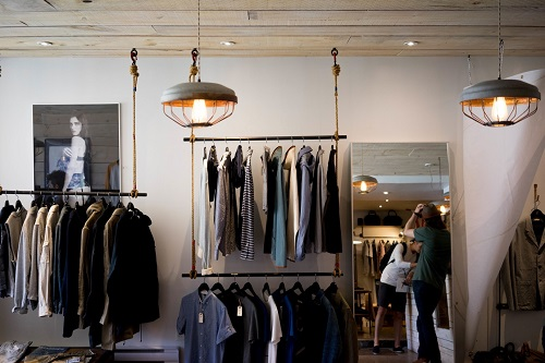 Indoor Brick & Mortar Clothing Store