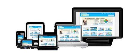 retail traffic analytics displayed on screen