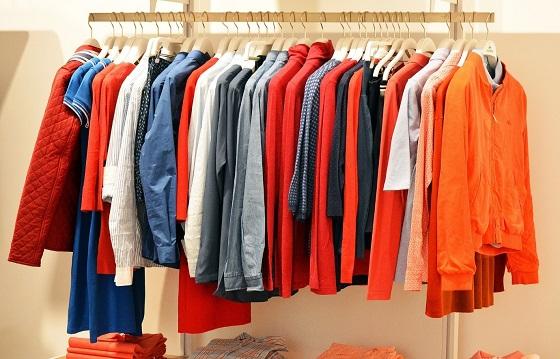 clothing store browsing